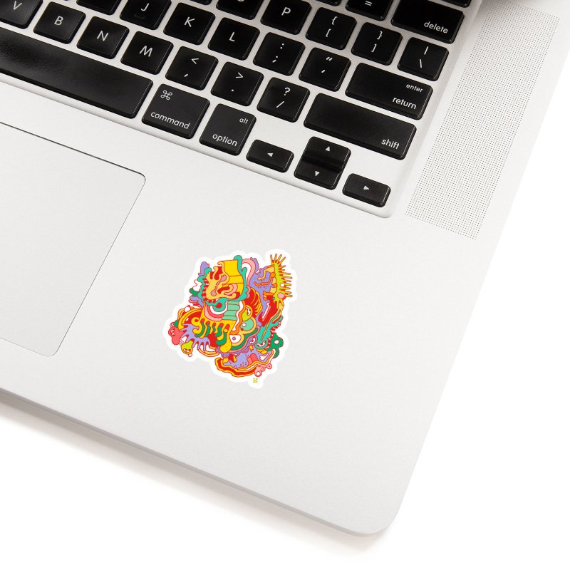 Nebular Oasis Accessories Sticker by Shelby Works