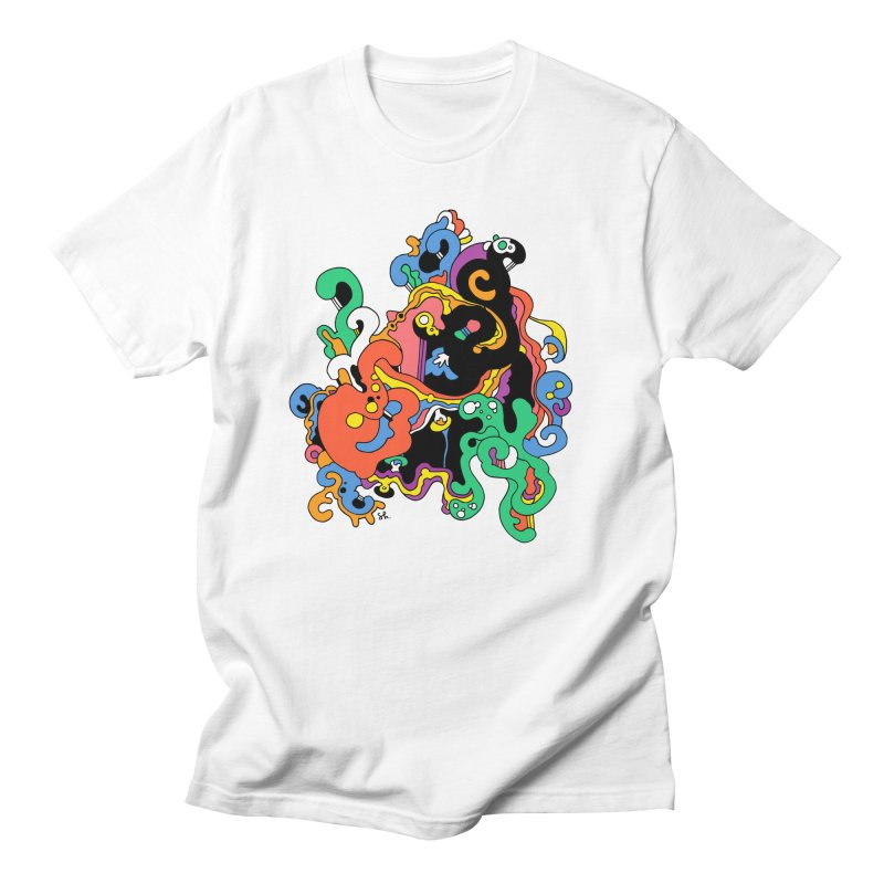 Swirly Junction Men's T-Shirt by Shelby Works