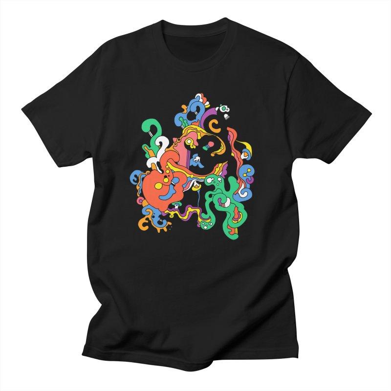 Swirly Junction Women's Regular Unisex T-Shirt by Shelby Works