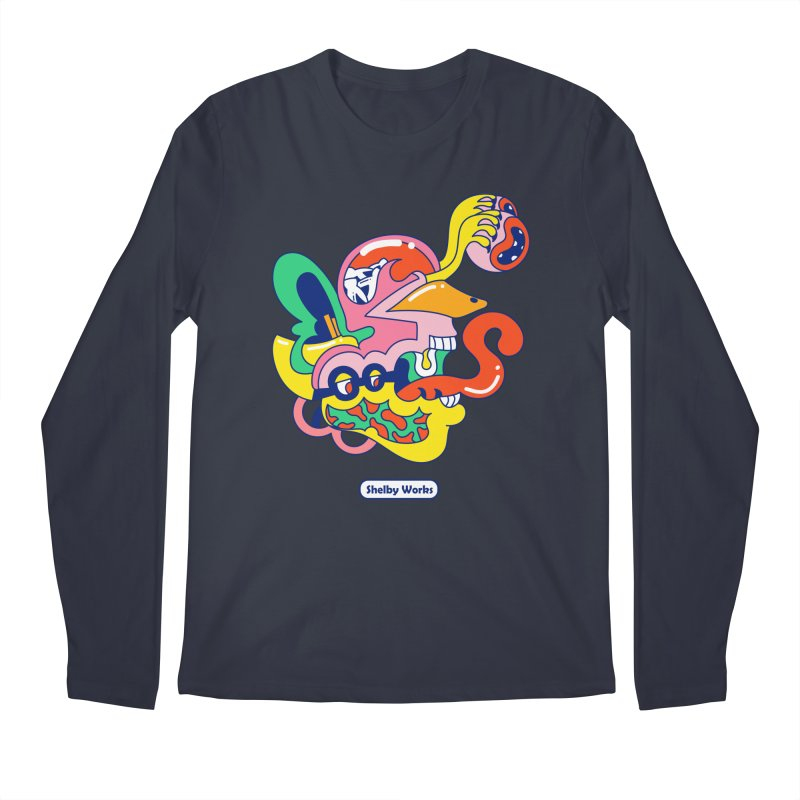 Tooth Fairy Men's Longsleeve T-Shirt by Shelby Works