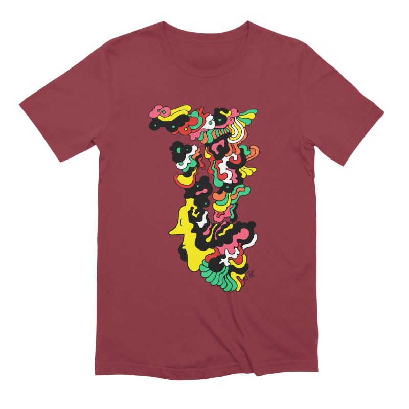 A Man with a Funky Hat Men's Extra Soft T-Shirt by Shelby Works