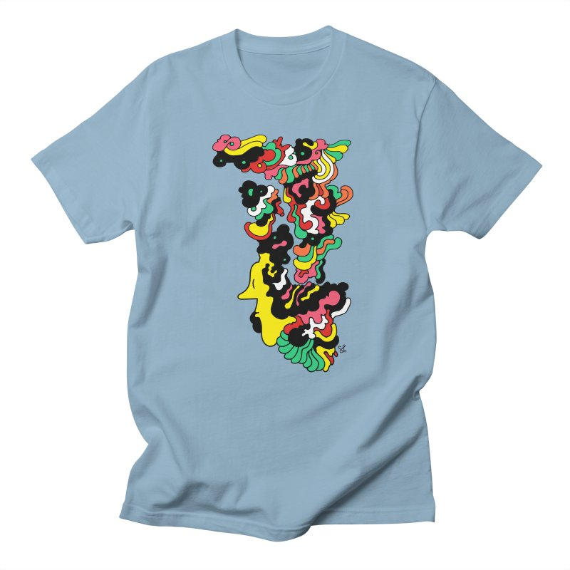 A Man with a Funky Hat Men's T-Shirt by Shelby Works