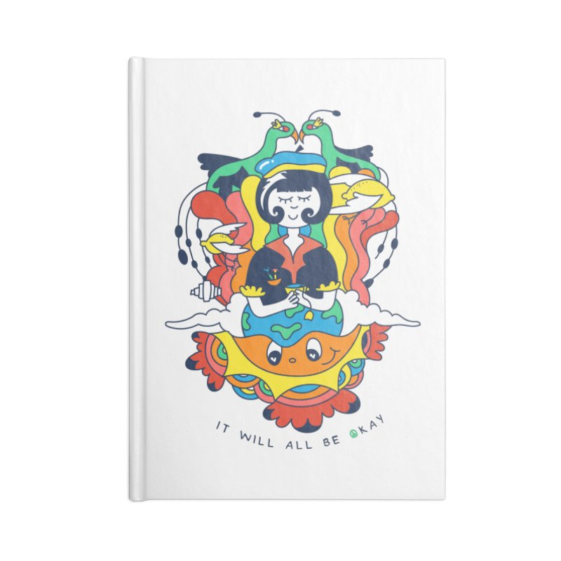 It Will All Be Okay. Accessories Lined Journal Notebook by Shelby Works