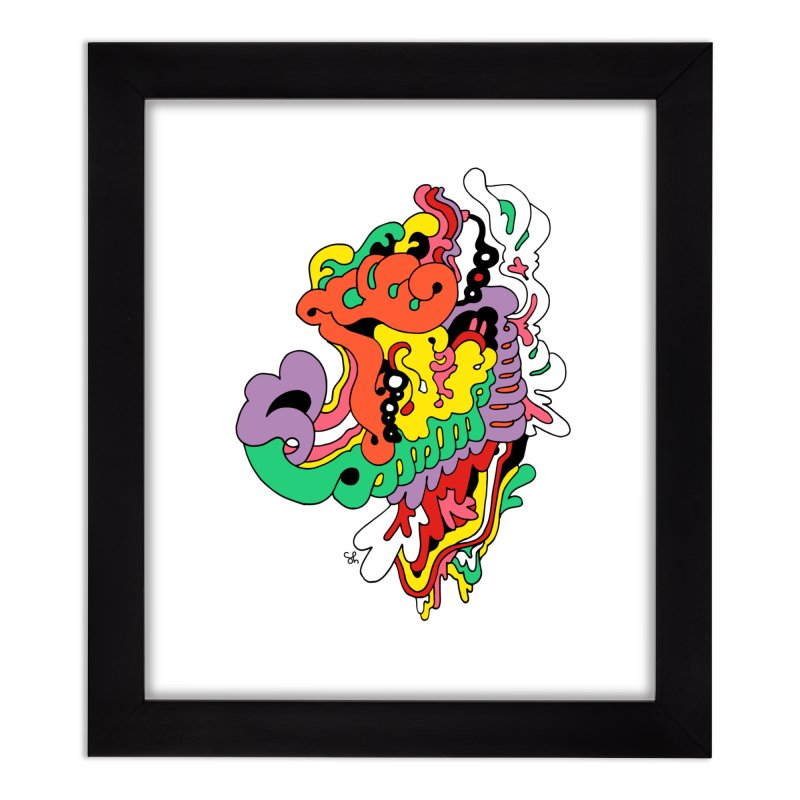 This is not a bagpipe. Home Framed Fine Art Print by Shelby Works