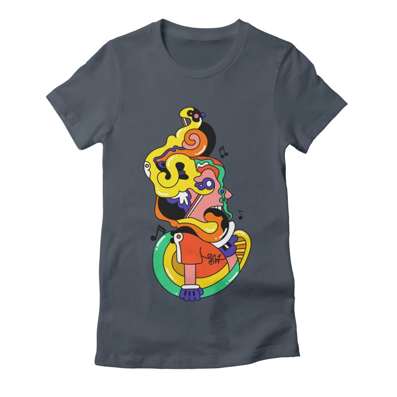 One Man Band Women's T-Shirt by Shelby Works