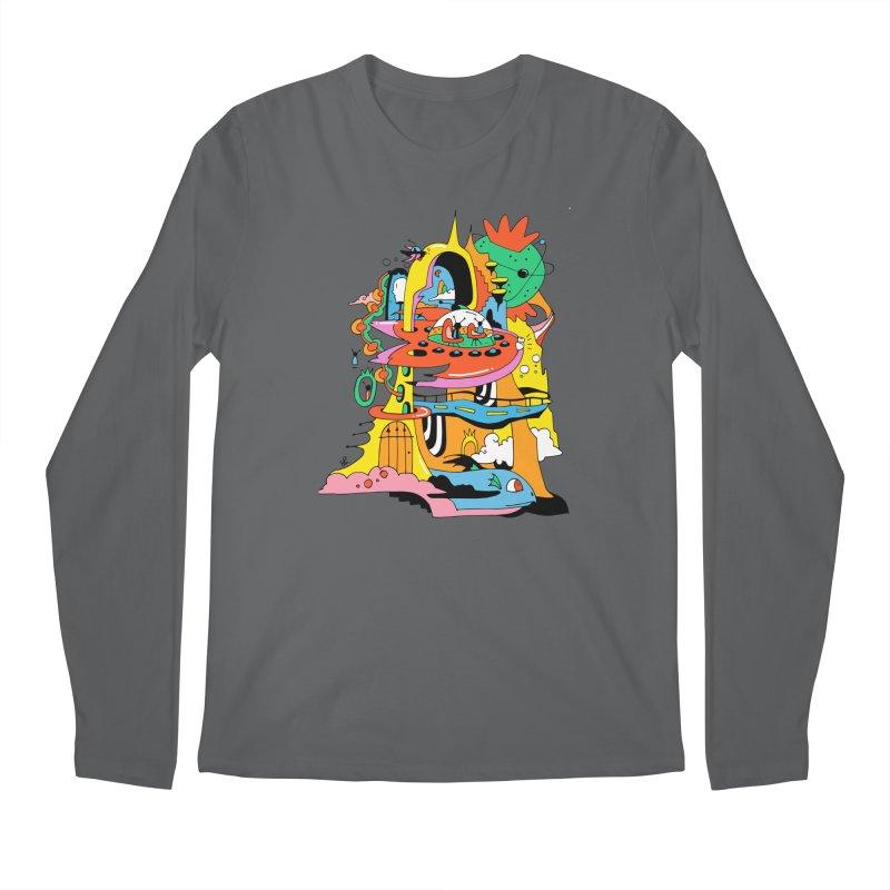 Far Away Getaway Men's Longsleeve T-Shirt by Shelby Works