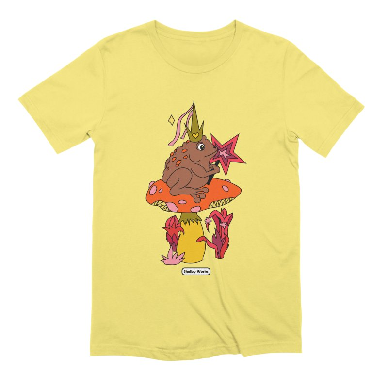 Magic Toad Men's T-Shirt by Shelby Works