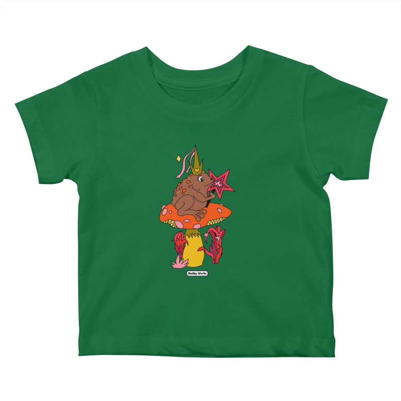 Magic Toad Kids Baby T-Shirt by Shelby Works