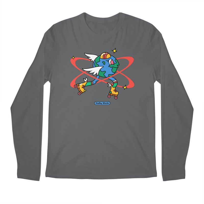 The Sky's the Limit Men's Longsleeve T-Shirt by Shelby Works