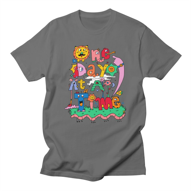 One Day at a time. Men's T-Shirt by Shelby Works