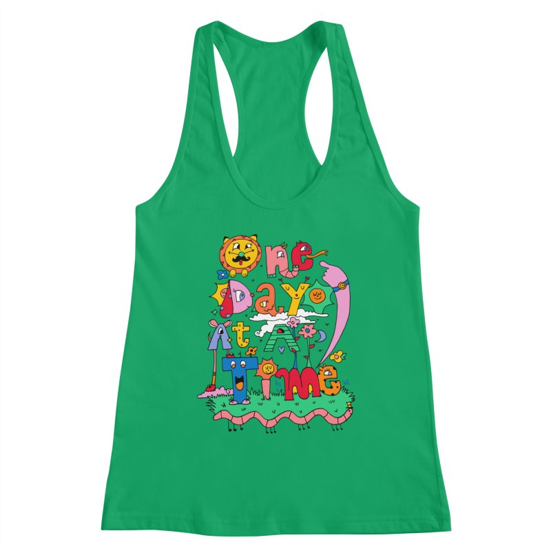 One Day at a time. Women's Tank by Shelby Works