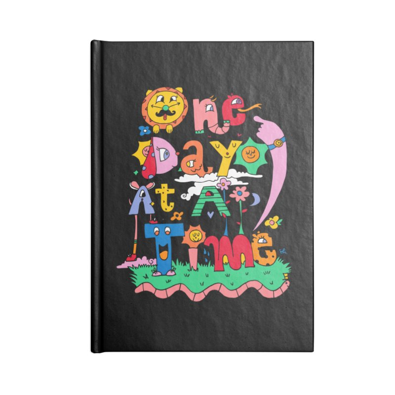 One Day at a time. Accessories Notebook by Shelby Works