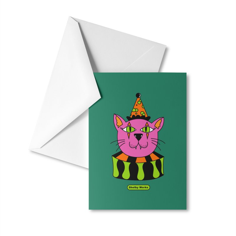Trixie Accessories Greeting Card by Shelby Works