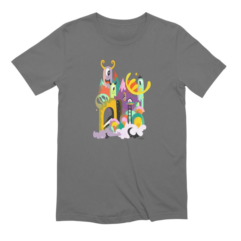 Goop Fairy Land Men's T-Shirt by Shelby Works