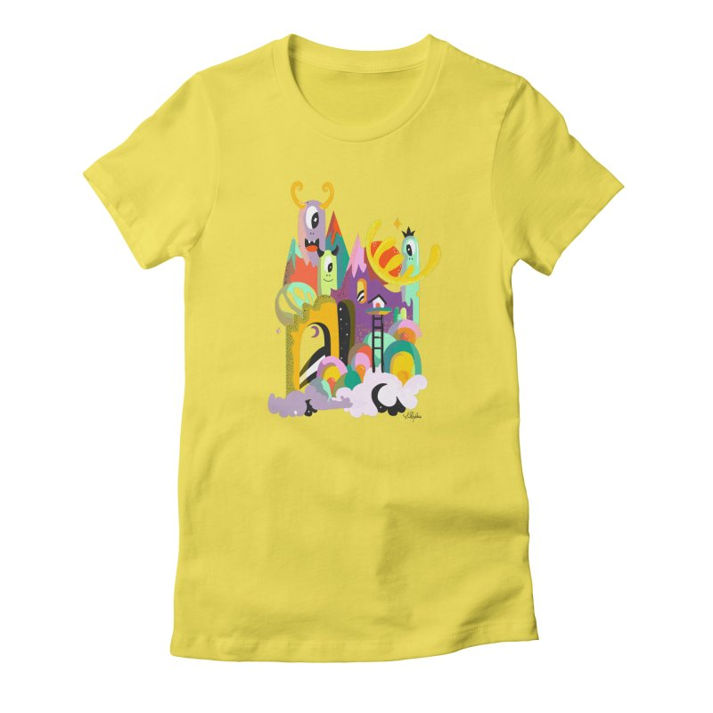 Goop Fairy Land Women's T-Shirt by Shelby Works