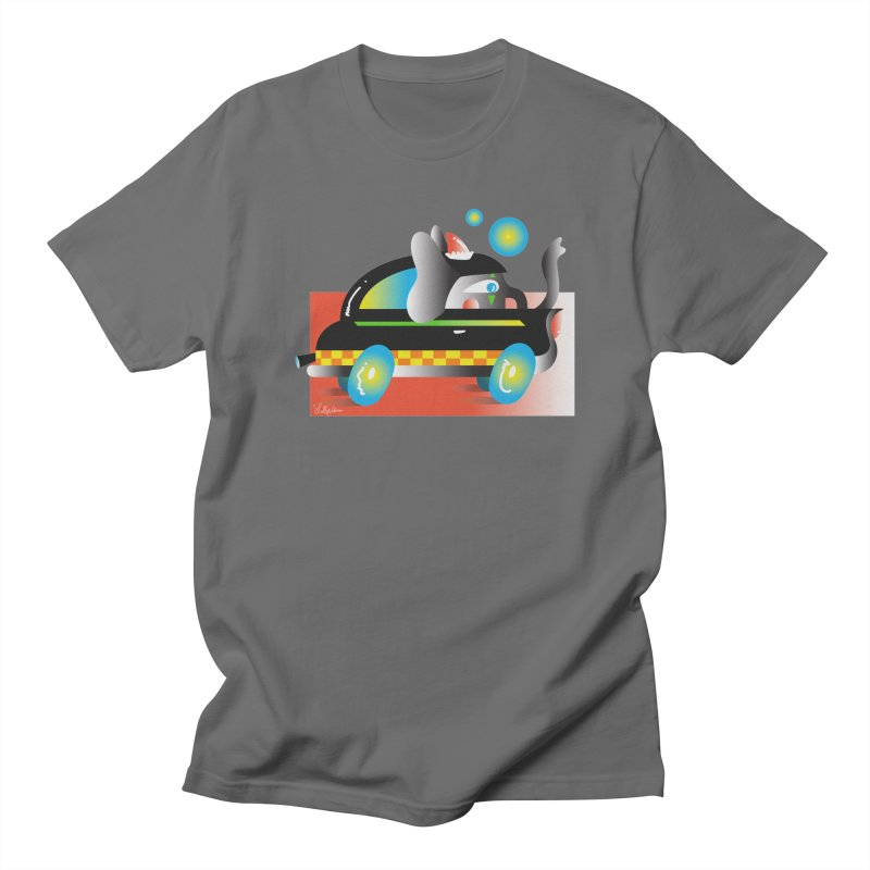 Elephant Car Men's T-Shirt by Shelby Works