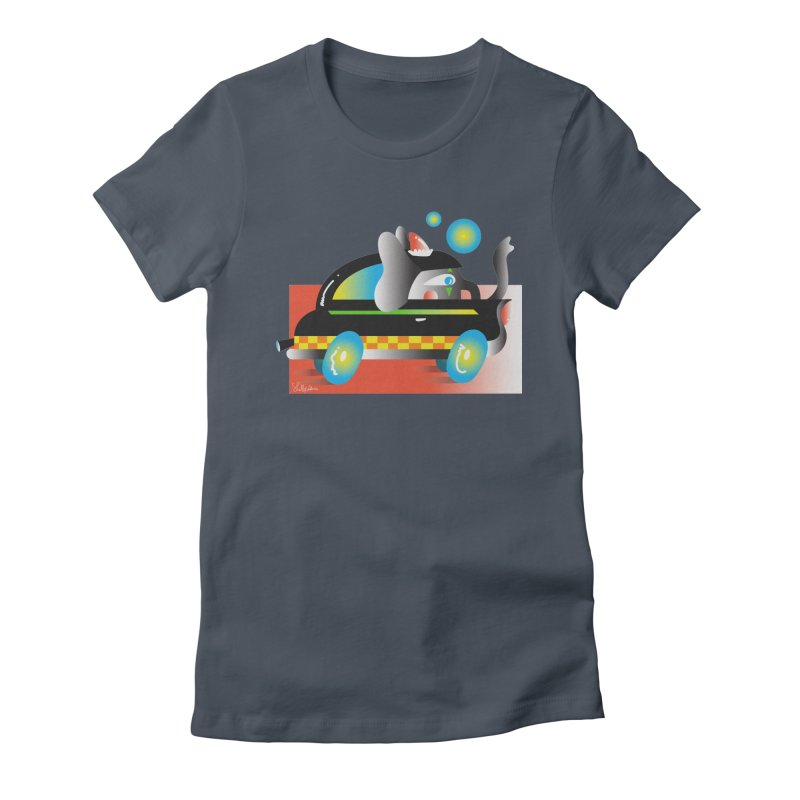 Elephant Car Women's T-Shirt by Shelby Works