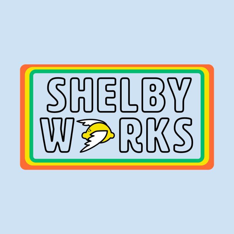 Shelby Works Sticker Design Men's Socks by Shelby Works