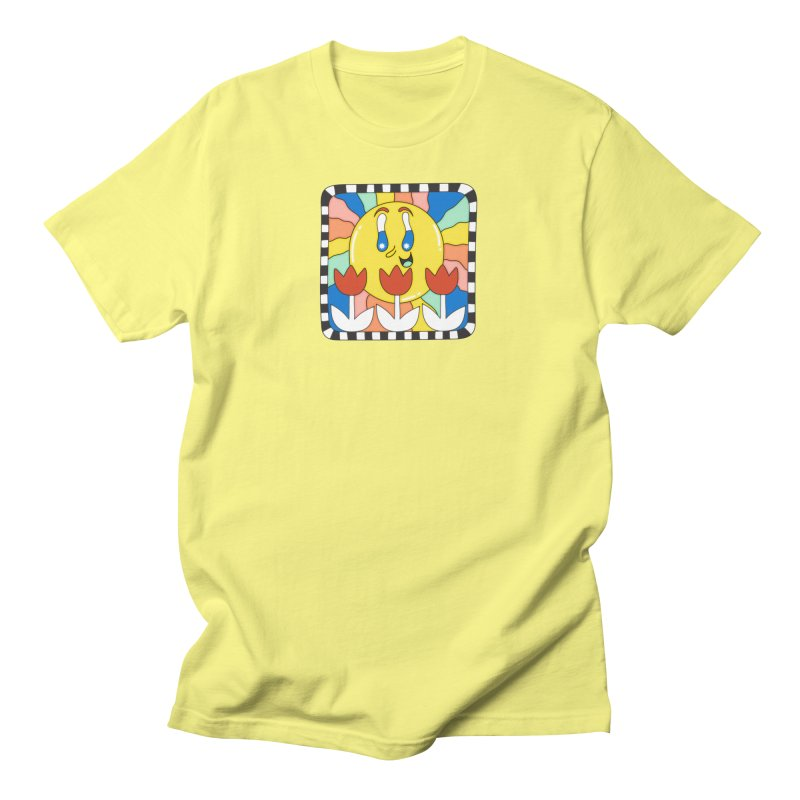 Sun Tile Men's T-Shirt by Shelby Works