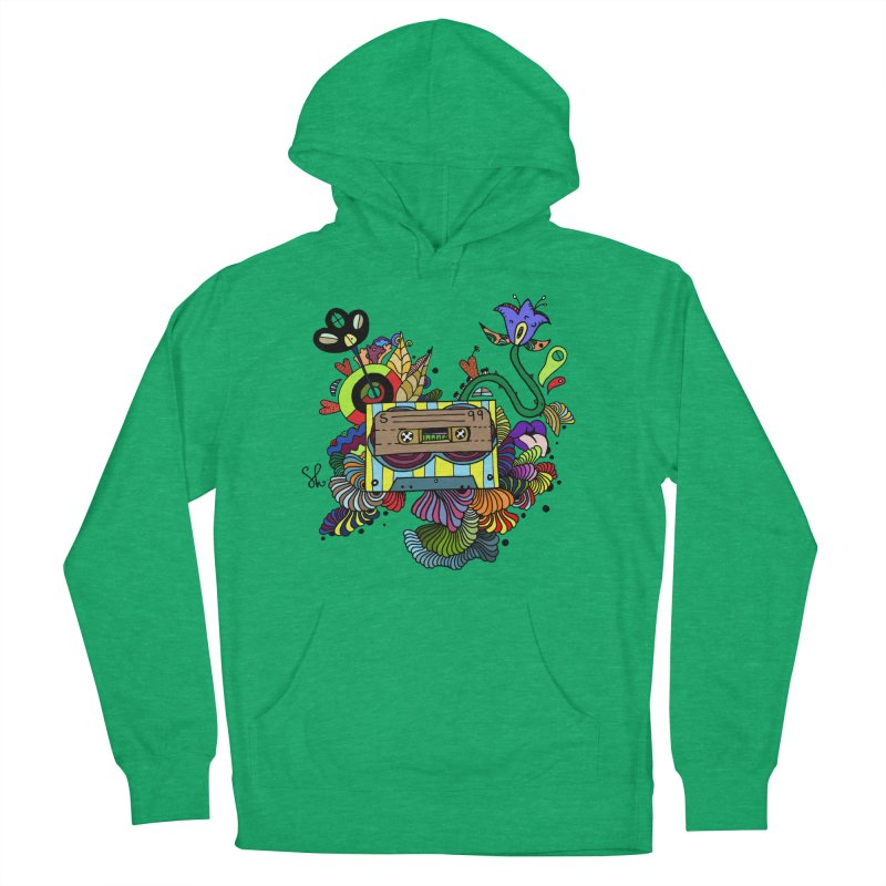 Beetle Leaves Men's French Terry Pullover Hoody by Shelby Works