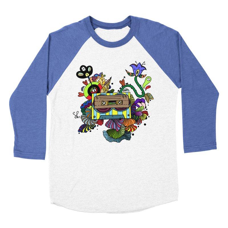 Beetle Leaves Men's Baseball Triblend Longsleeve T-Shirt by Shelby Works
