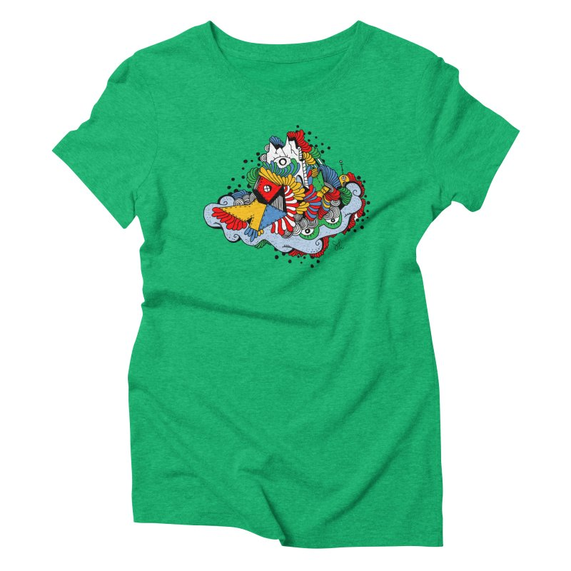 Castle Women's Triblend T-Shirt by Shelby Works