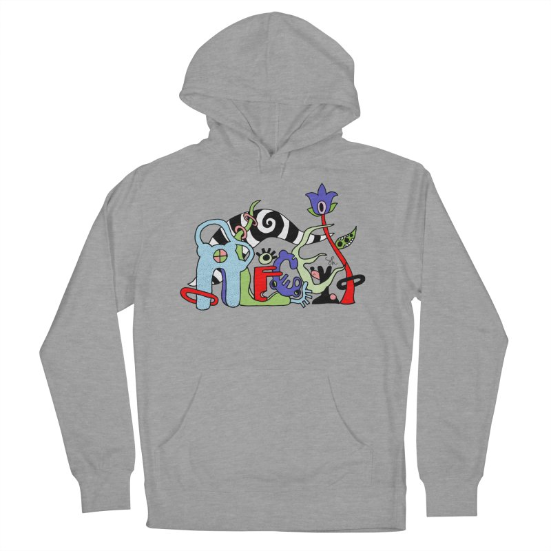 Alice Logo Women's French Terry Pullover Hoody by Shelby Works