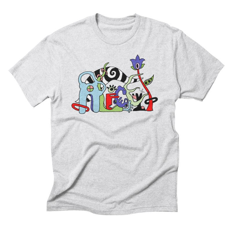 Alice Logo Men's Triblend T-Shirt by Shelby Works