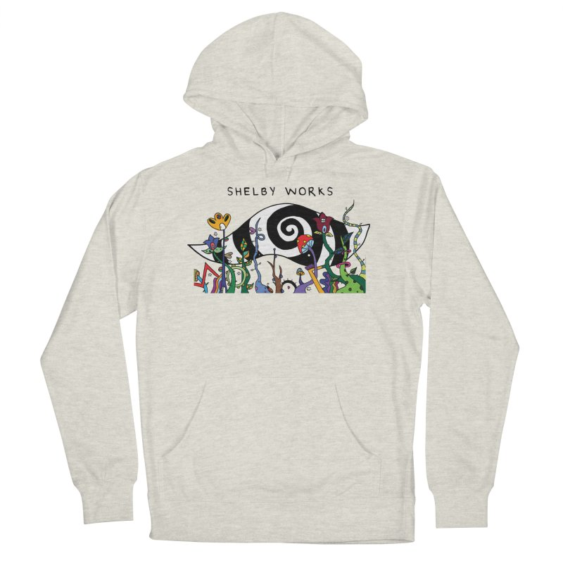 Hypnotized Men's French Terry Pullover Hoody by Shelby Works