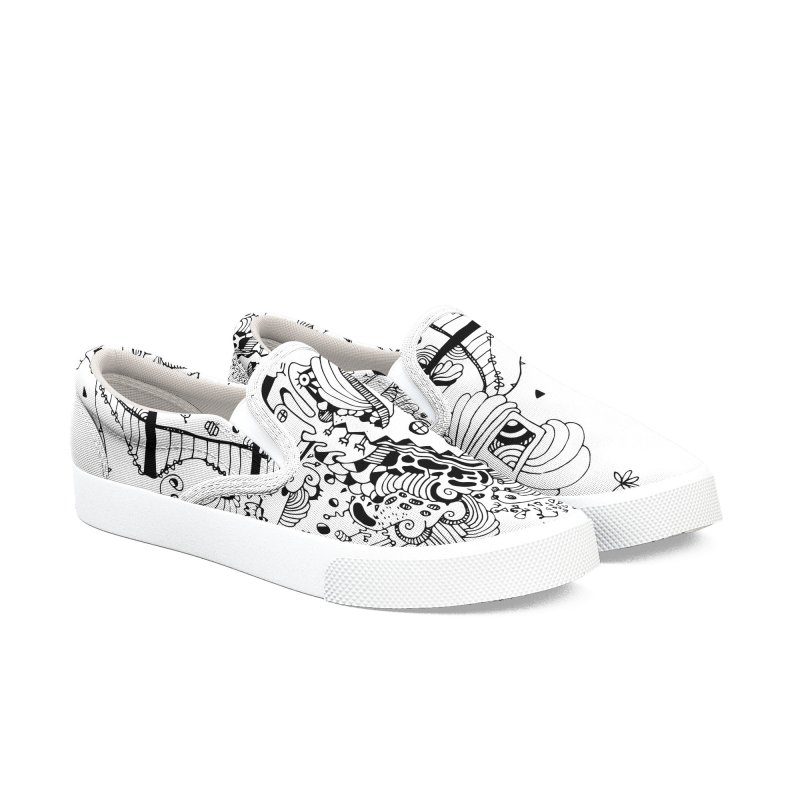 City of Serendipity Women's Slip-On Shoes by Shelby Works
