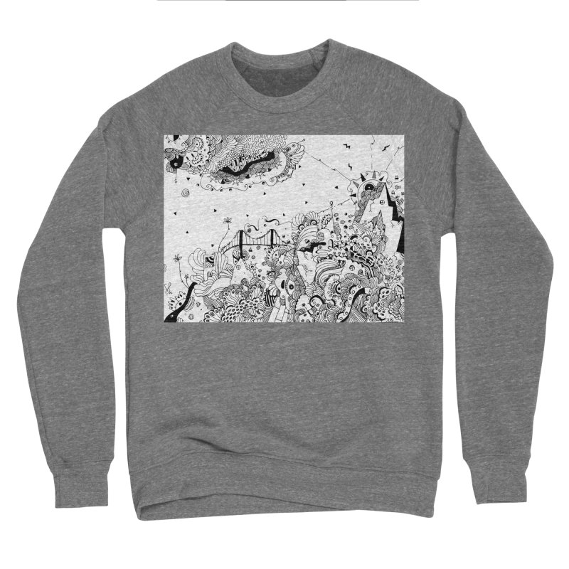 City of Serendipity Men's Sweatshirt by Shelby Works