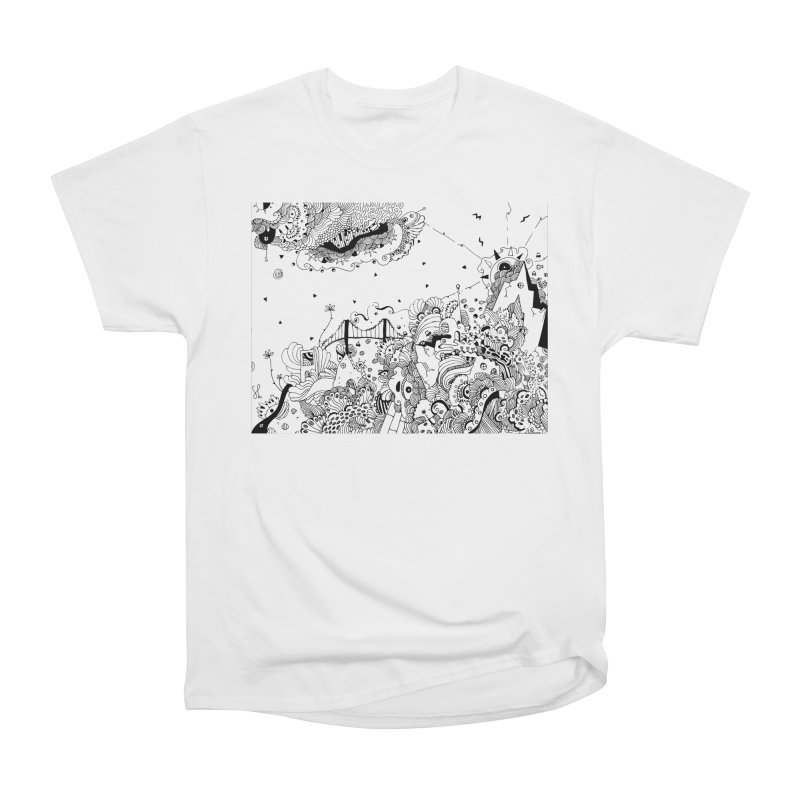 City of Serendipity Men's T-Shirt by Shelby Works