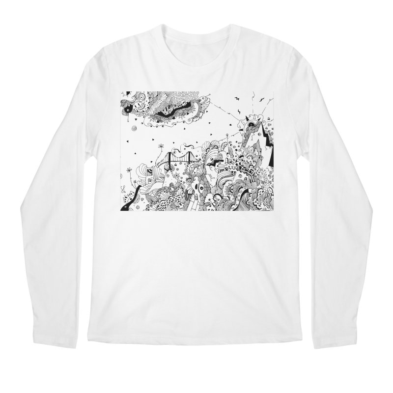 City of Serendipity Men's Longsleeve T-Shirt by Shelby Works