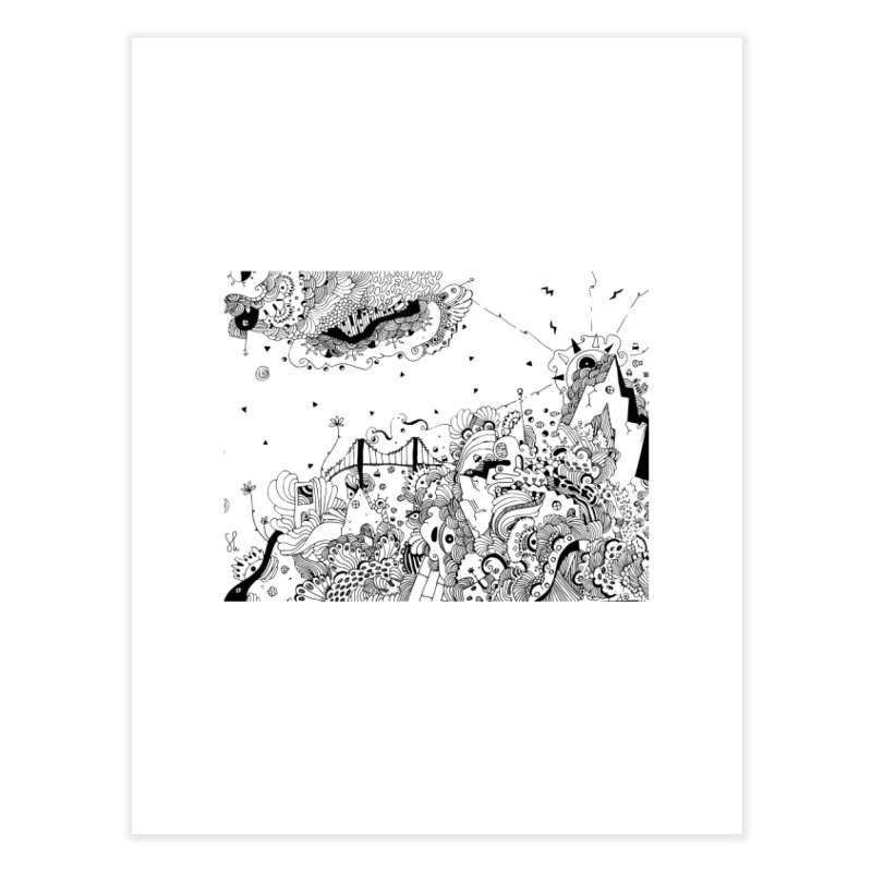 City of Serendipity Home Fine Art Print by Shelby Works