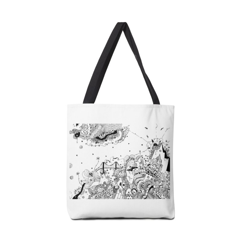 City of Serendipity Accessories Bag by Shelby Works