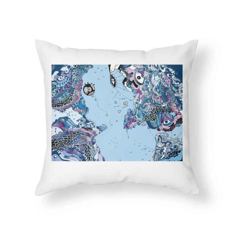 The Original Home Throw Pillow by Shelby Works
