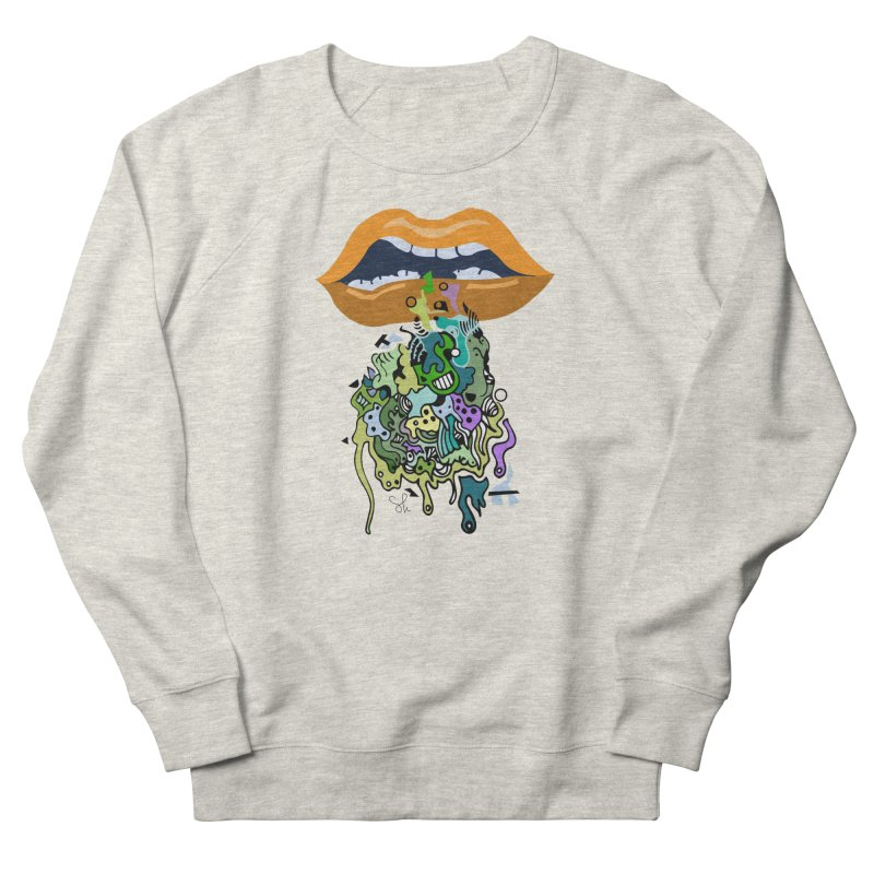 Mouthful Men's French Terry Sweatshirt by Shelby Works