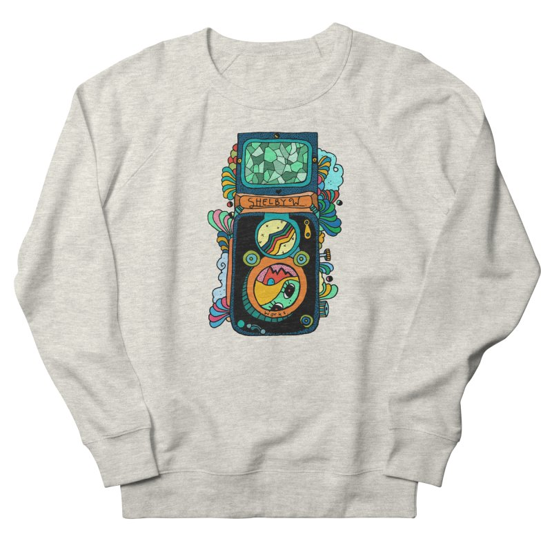 Kaleidoscope Camera Women's French Terry Sweatshirt by Shelby Works