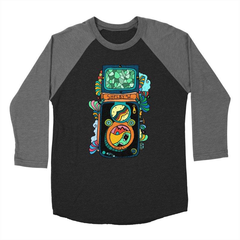 Kaleidoscope Camera Women's Baseball Triblend Longsleeve T-Shirt by Shelby Works