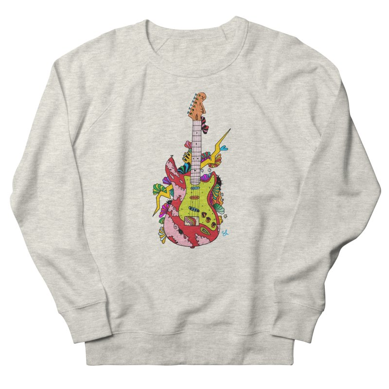 Electric Paint Women's French Terry Sweatshirt by Shelby Works