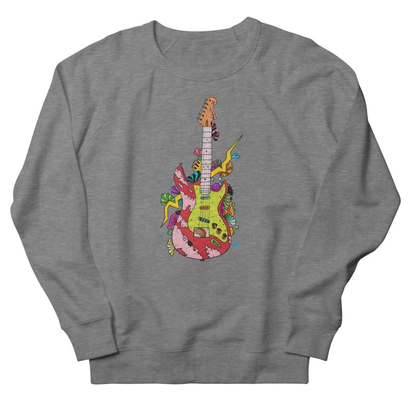 Electric Paint Men's French Terry Sweatshirt by Shelby Works