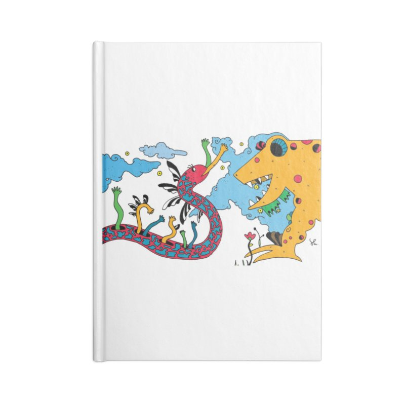 Lizardie Things Accessories Lined Journal Notebook by Shelby Works