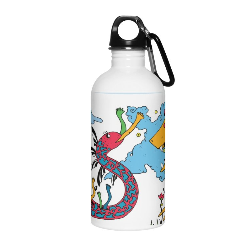 Lizardie Things Accessories Water Bottle by Shelby Works