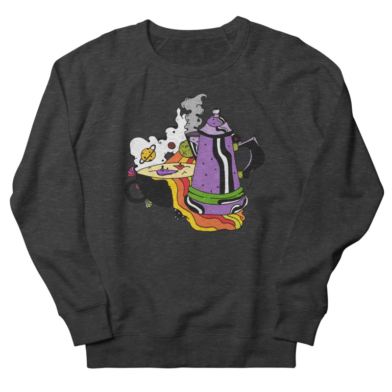 Coffee Dreams Women's French Terry Sweatshirt by Shelby Works