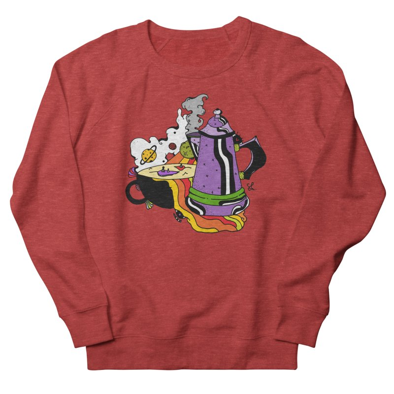 Coffee Dreams Women's Sweatshirt by Shelby Works