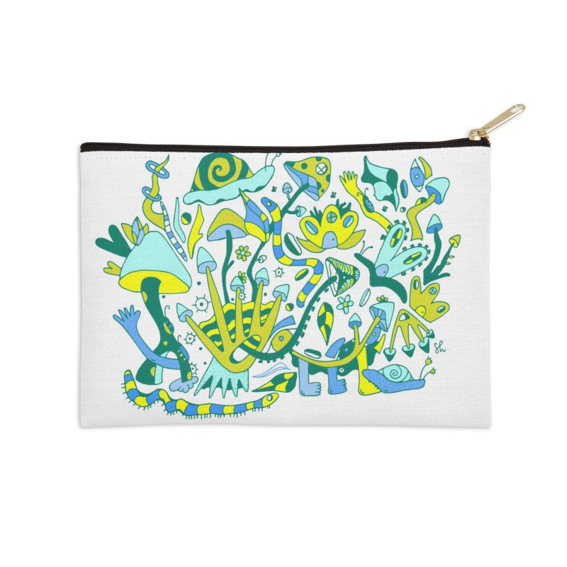 Bug Eyed Accessories Zip Pouch by Shelby Works