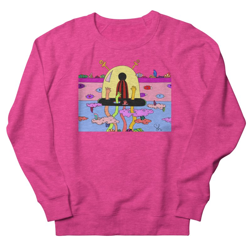 Space Pals Women's French Terry Sweatshirt by Shelby Works
