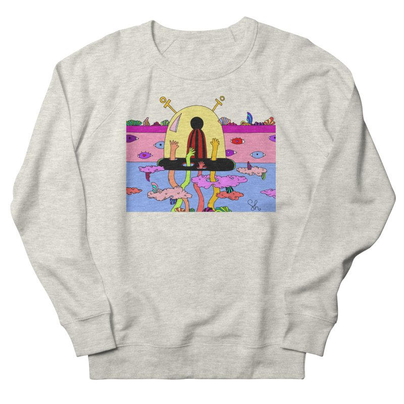 Space Pals Men's French Terry Sweatshirt by Shelby Works