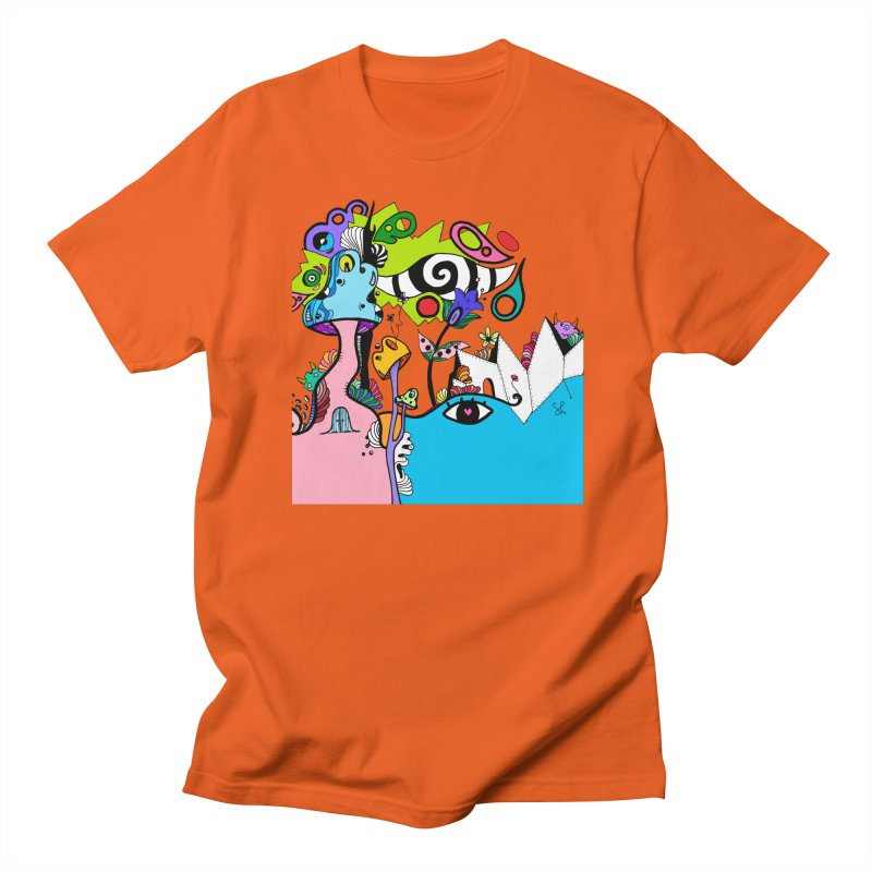 Alice Eyes Men's T-Shirt by Shelby Works