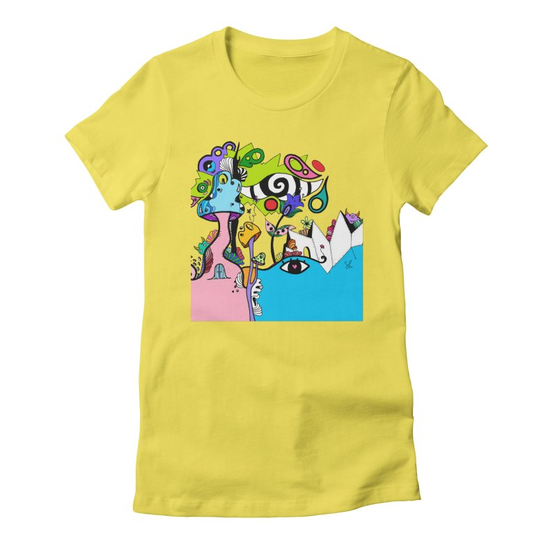 Alice Eyes Women's T-Shirt by Shelby Works
